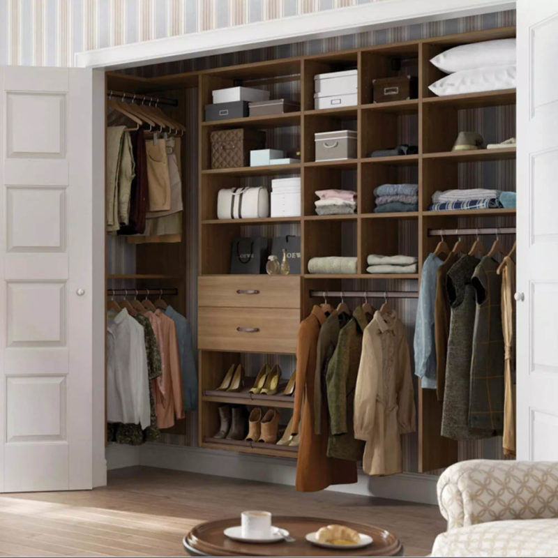 Reach In Closets, Also Called Wall Closets Are Most Commonly Found In  Hallways, Bedrooms And Kidsu0027 Rooms. Personalize The Look Of Your Closet By  Mixing And ...