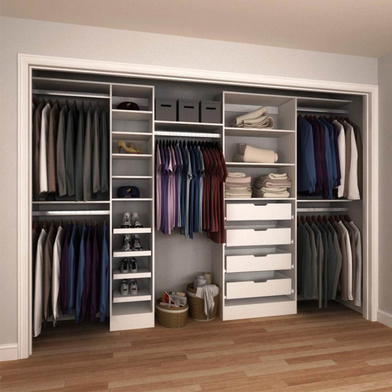 Superbe Reach In Closets, Also Called Wall Closets Are Most Commonly Found In  Hallways, Bedrooms And Kidsu0027 Rooms. Personalize The Look Of Your Closet By  Mixing And ...
