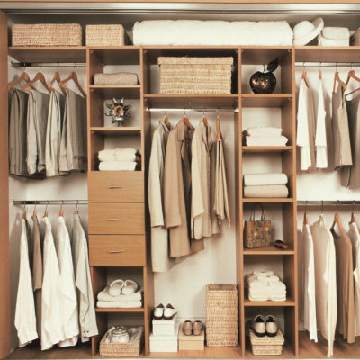 Attrayant Clutterless Closets